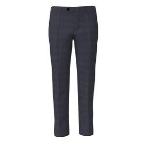 Trousers Otello Blue Overcheck