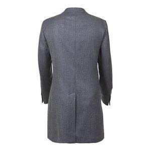 Coat Obliquo Blue Wool