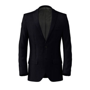 Jacket Blue Oltre Hopsack