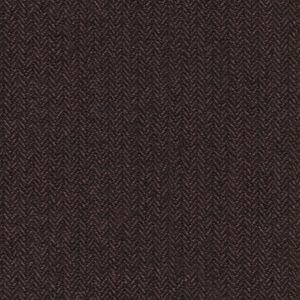 Blazer Marron À Chevrons Laine Coton