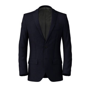 Jacket Traveller Blue Birdseye