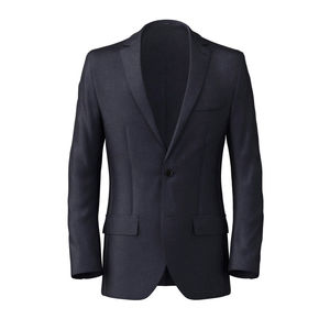 Blazer Traveller Blue Wool