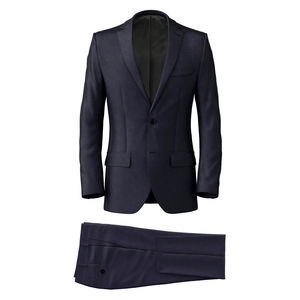 Suit Traveller Blue Wool