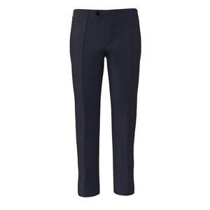 Pants Traveller Blue Wool