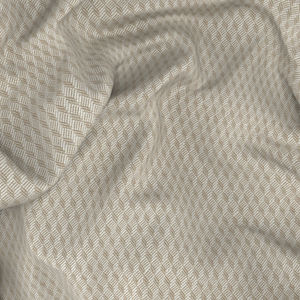 Suit Ivory Microdesign Wool Silk