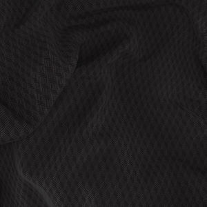 Tuxedo Black Microdesign Wool Silk