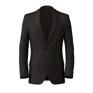 Blazer Mahogany Wool Silk