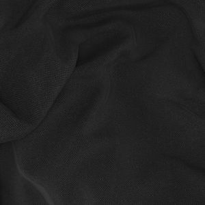 Black Wool Silk Tuxedo Fabric produced by  Tallia Delfino