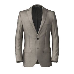Jacket Ivory Wool Silk