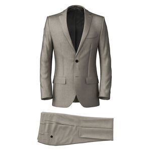 Suit Ivory Wool Silk