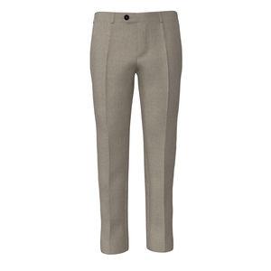 Pantalones Marfil Lana Seda