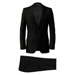 Anzug Charcoal Grey Wolle
