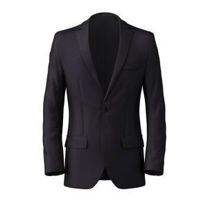Blazer Midnight Blue Wool