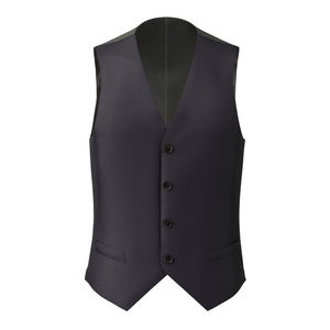 Vest Midnight Blue Wool
