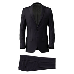 Suit Midnight Blue Wool