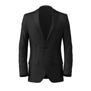 Blazer Black Classic Wolle