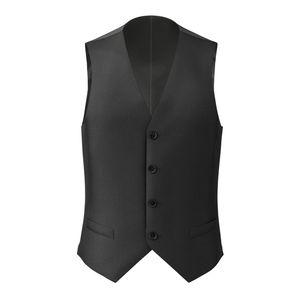 Vest Black Classic Wool
