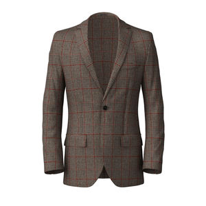 Blazer Vintage Brown Wool Cashmere
