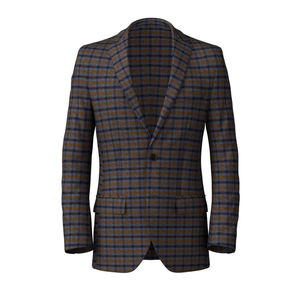 Blazer British Blue Check Wool