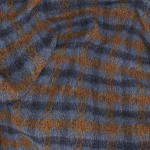Jacket British Blue Check Wool