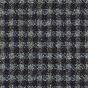 Jacket Green Check Wool