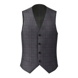 Waistcoat Anthracite Prince of Wales