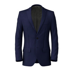 Jacket Super 160's Blue