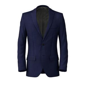 Jacket Super 160's Blue