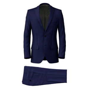 Suit Super 160's Blue