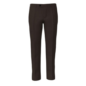 Trousers Super 160's Tobacco