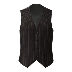 Vest Grey Double Stripe