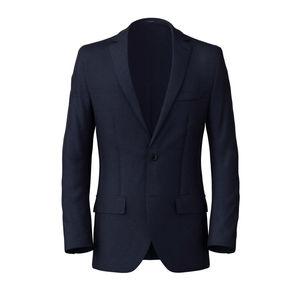 Blazer Melange Blue