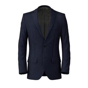 Jacket Melange Blue