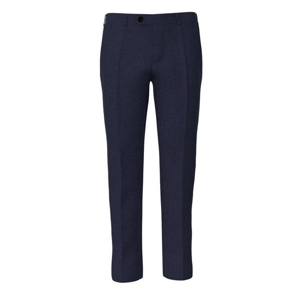 Pantalone Vitale Barberis Canonico Quattro Stagioni Grisaglia Blu Scuro