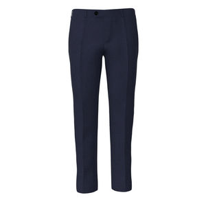 Trousers Melange Blue
