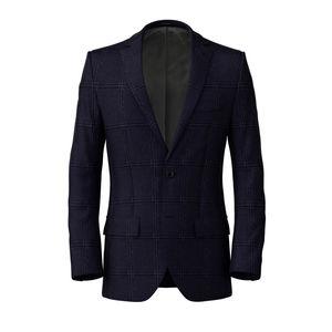 Jacket Monaco Blue Check
