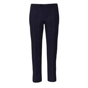 Trousers Monaco Blue Check