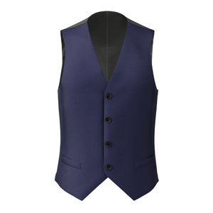 Waistcoat Cobalt Blue
