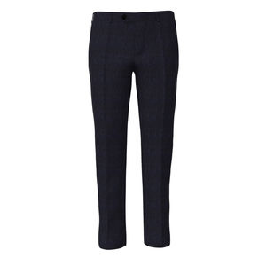 Pants Navy Blue Melange