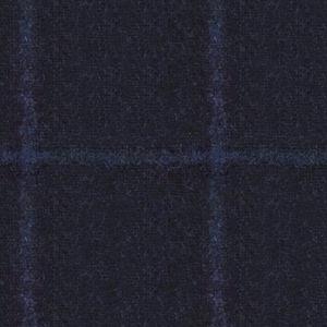Blazer Blau Überkaro Alpaka