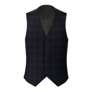 Vest Paris Blue Prince of Wales