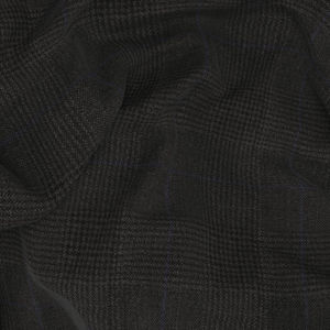 Trousers Grey Prince of Wales Wool Silk