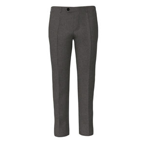 Pants Grey Houndstooth Flannel