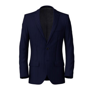 Jacket Miami Blue Pinstripe