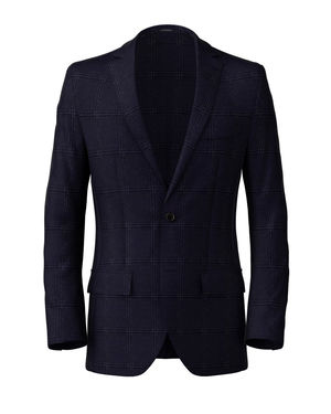 Blazer Monaco Blue Check