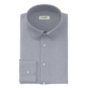 Camicia Grigio Micro Dots