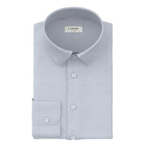 Camicia Azzurro Oxford Dots
