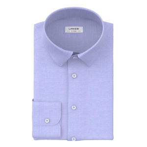 Camisa Icon Celeste Oxford Algodón