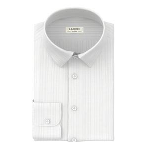 Camicia Cerimonia Bianco Stripe Design
