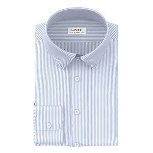 Camicia Soft Azzurro Cielo Rigato